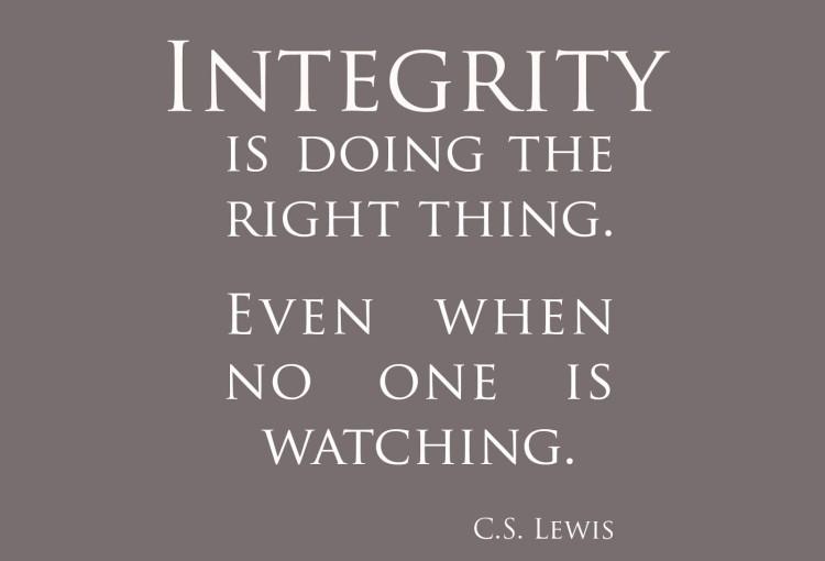 personal integrity bear valley center for spiritual enrichment