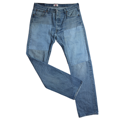 LEVI'S 501 MIT PATCHES L