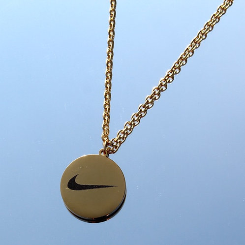 NIKE SWOOSH KETTE GOLD ONE SIZE