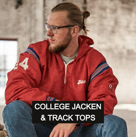 College Jacken und Tracktops