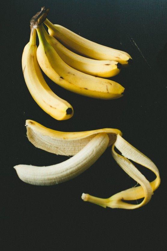 banana skins for the garden