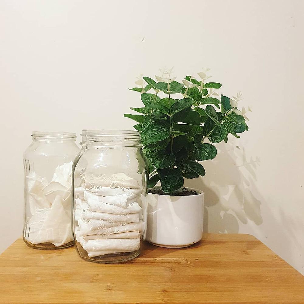 Reusable tissue station - Sustainability