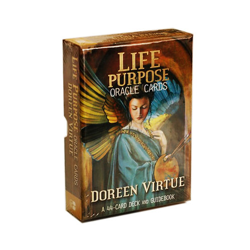 Doreen Virtue Life Purpose Travel Pack Of Oracle Cards