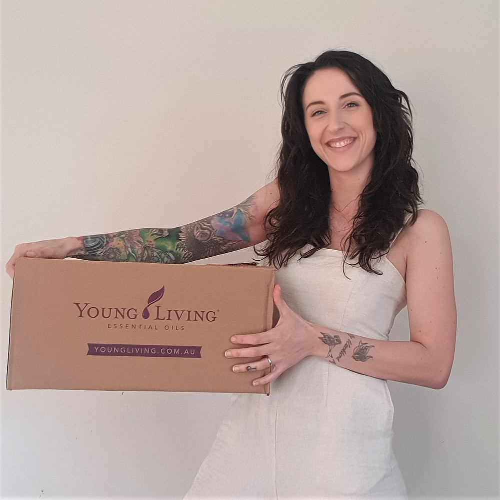 blair kalivati's essential rewards order with young living for the month of july 2020