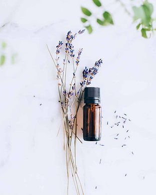 Essential Oils with Lavender - Aromatherapy