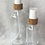 Thumbnail: 100ml Clear Glass Bottle with Bamboo Mister