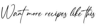 Want More Recipes Like This? Clean recipes