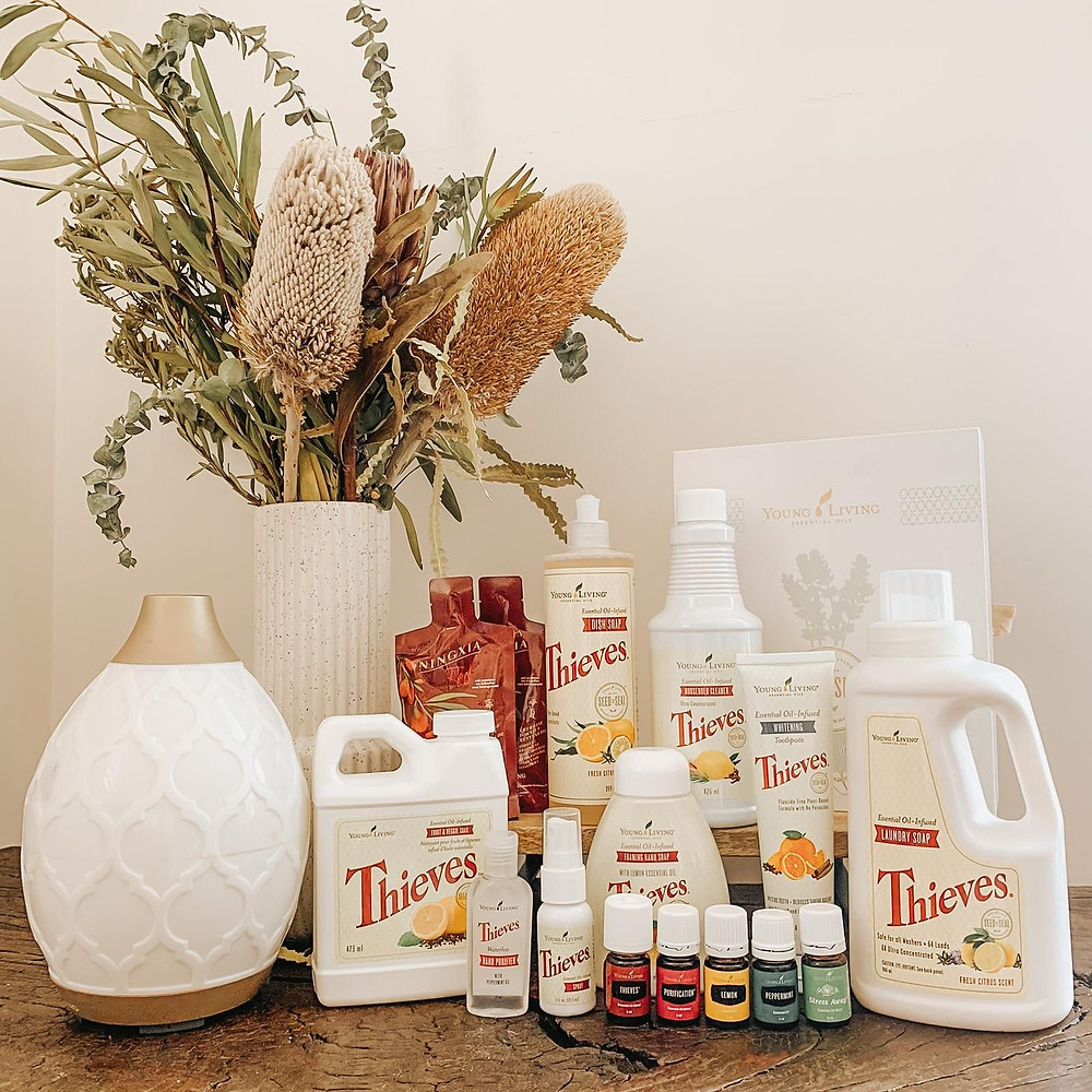 young livings healthy home starter bundle - young living mentor and distributor