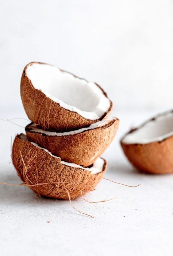 coconuts - coconut oil - oil pulling