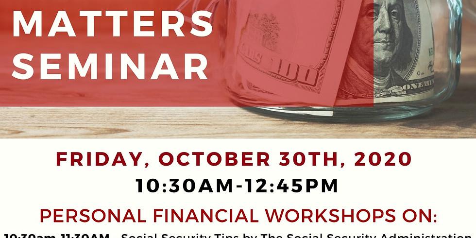 Financial Fortitude: Virtual Money Matters Seminar