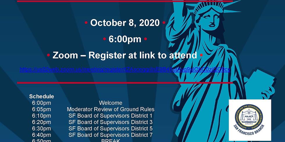 Voter Education Political Forum