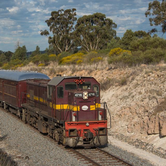 Diesel Train Travel