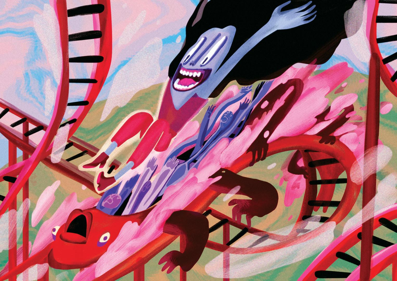 Illustration for TimeOut Tel Aviv