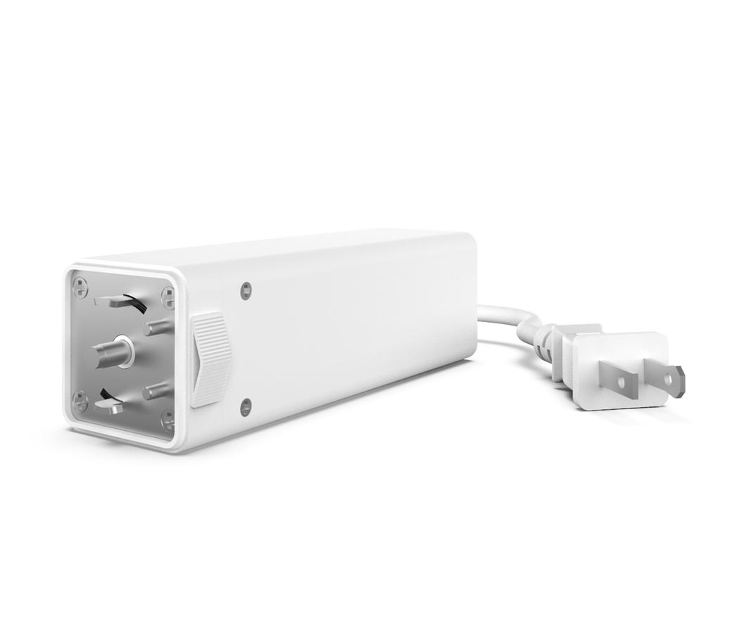 Curtain AC Module 10' Cord + Plug [110V]