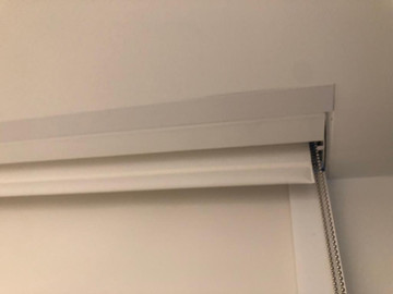 Dual Roller Shades With Blackout Channels