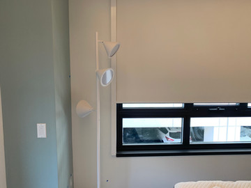 Blackout Roller Shade with Side channels
