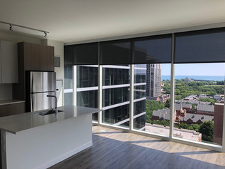 Roller Shades with Fascia