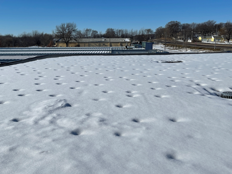 What Causes Mystery Suken Circles on Roofs?