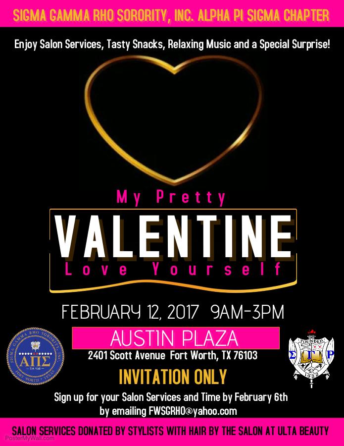 My Pretty Valentine Flyer 2.12.17