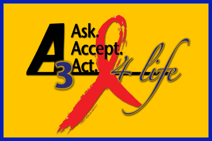 A3 ASk. Accept. Act. 4 Life