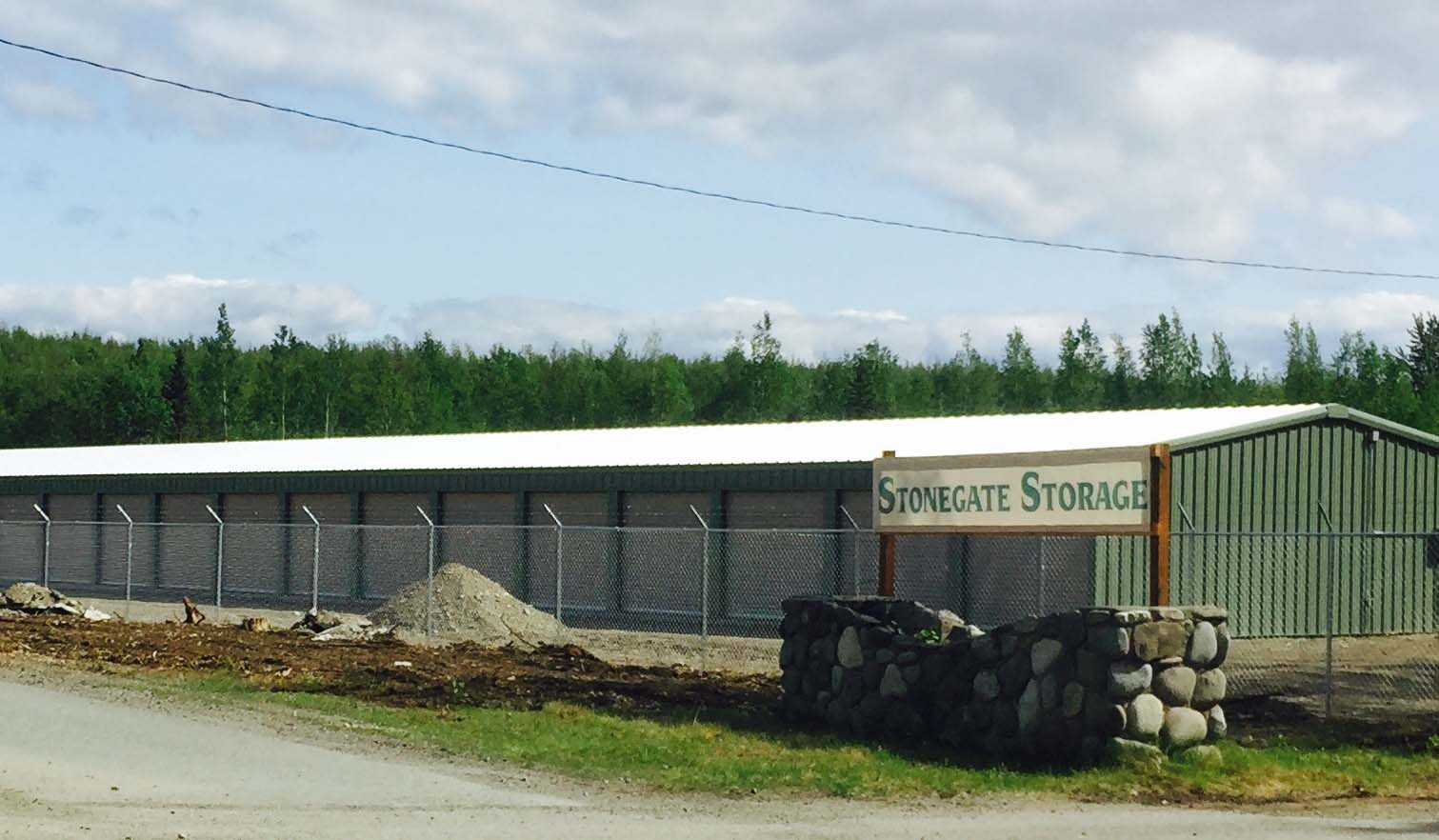 Stonegate Storage building