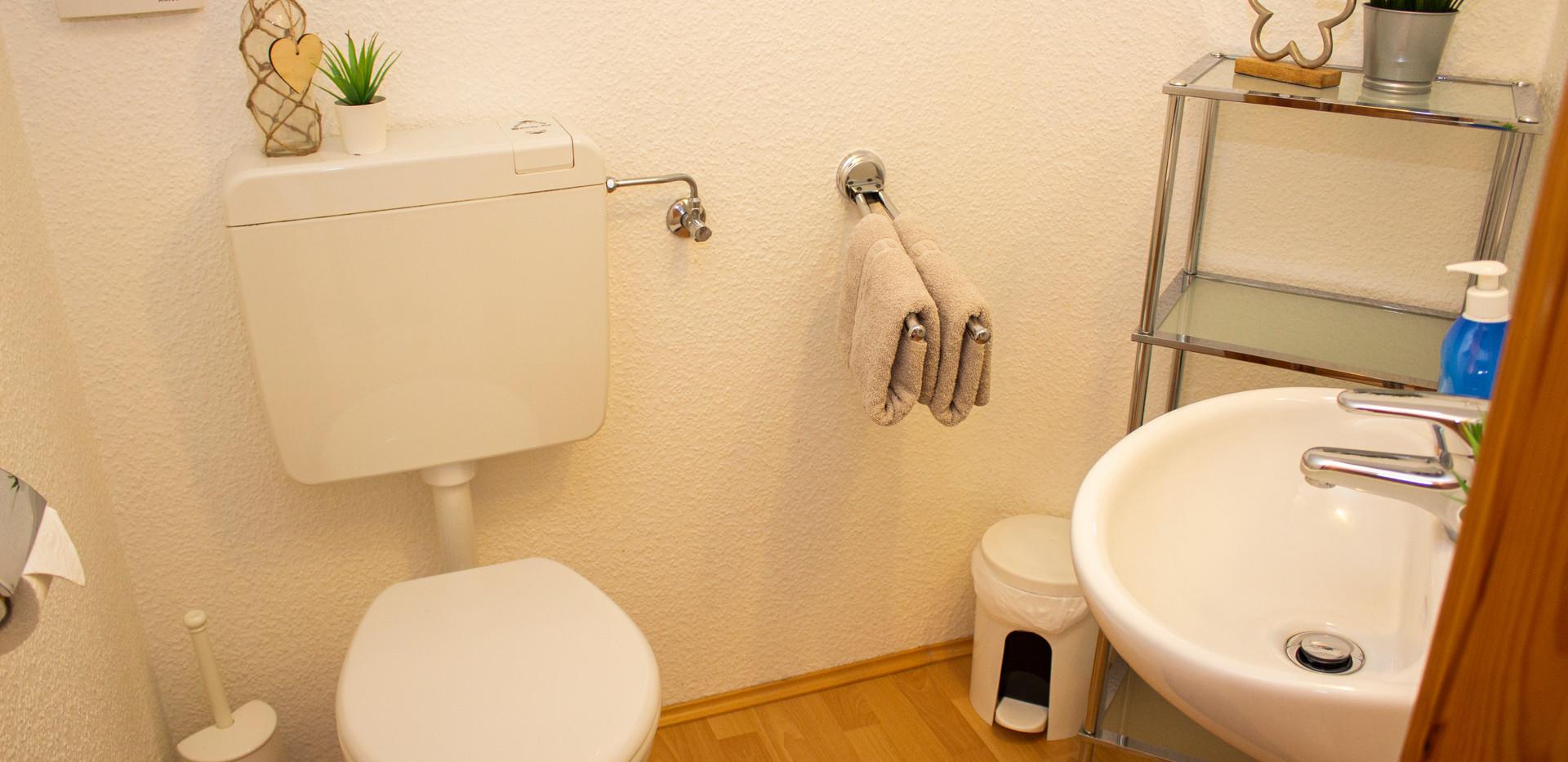 WC - oben