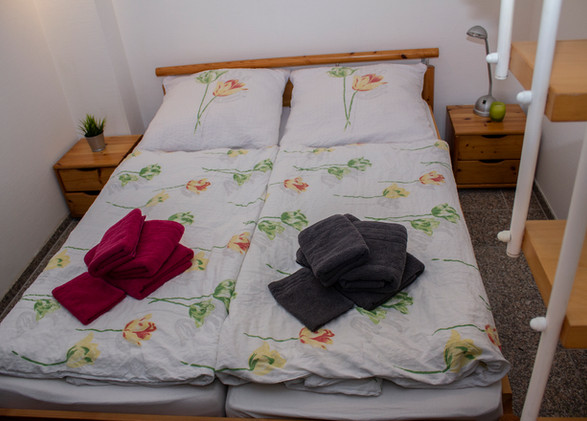 Schlafbereich unten