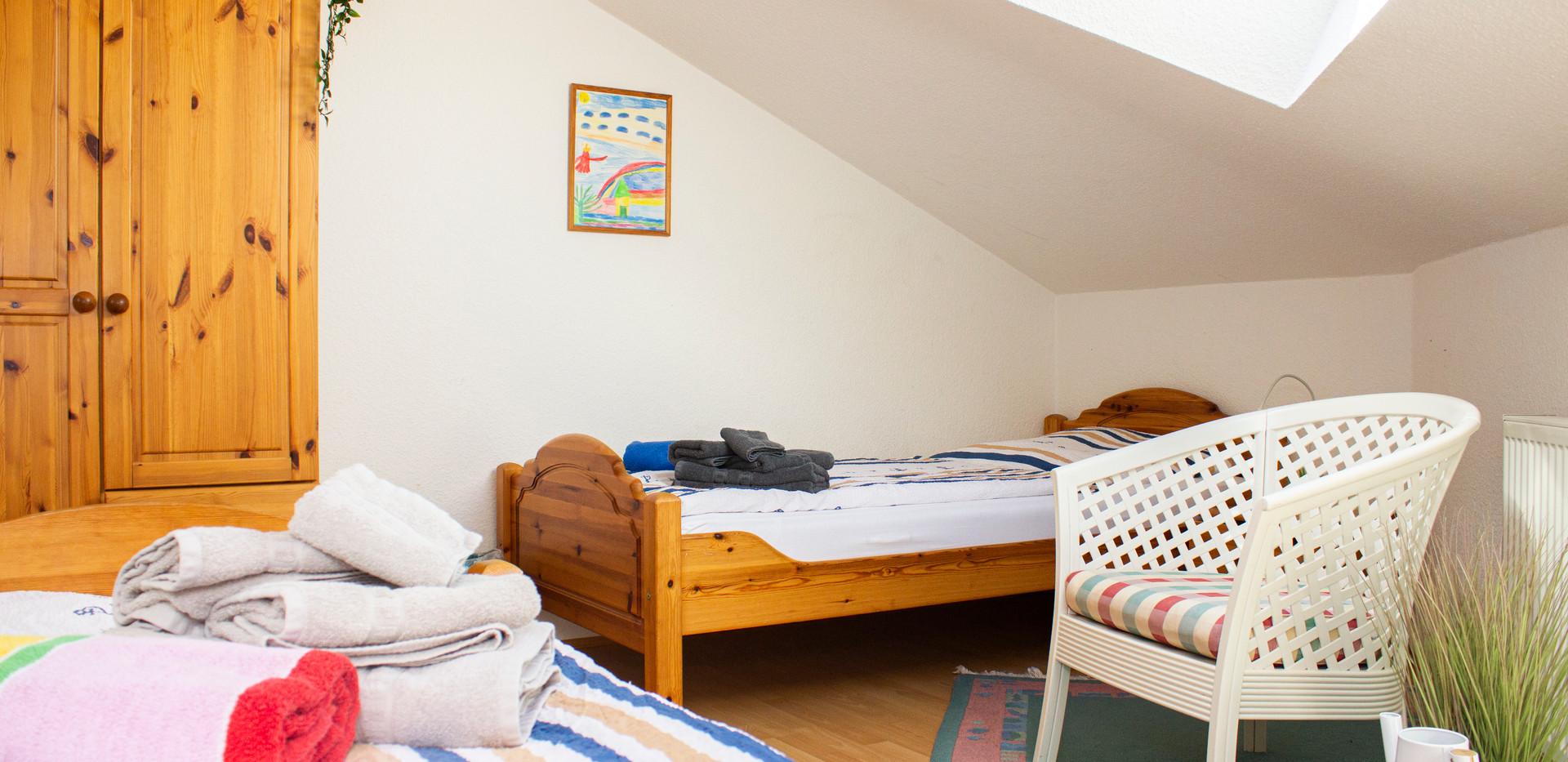 Schlafzimmer 3 von 3 - oben