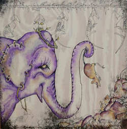 The Elephant Overcomes His Fears