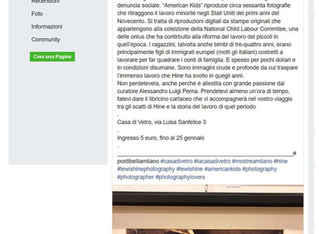 la recensione di Federica Venni per Posti belli a Milano