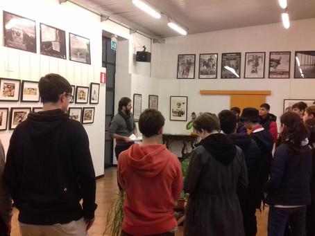 """visita guidata alla mostra """"American Kids"""" con gli studenti dell'Itsos Albe Steiner"""