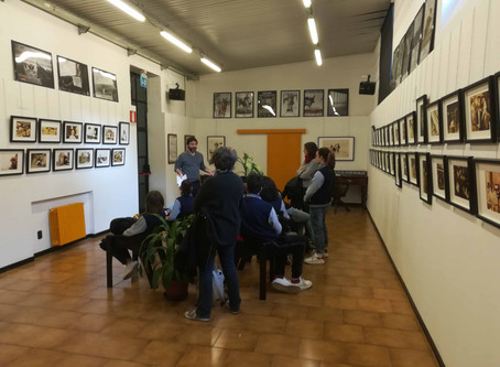 "visita guidata alla mostra ""American Kids"" con gli studenti dell'Olona International School"