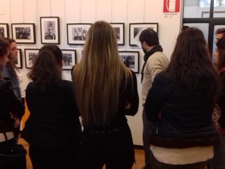 """Visita guidata """"Assedio a Madrid"""" con gli studenti dell'Istituto G. Torno"""