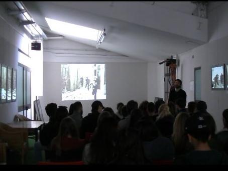 """Foto-proiezione commentata """"Assedio a Madrid"""" con gli studenti dell'ITCS Schiaparelli-Gramsci"""