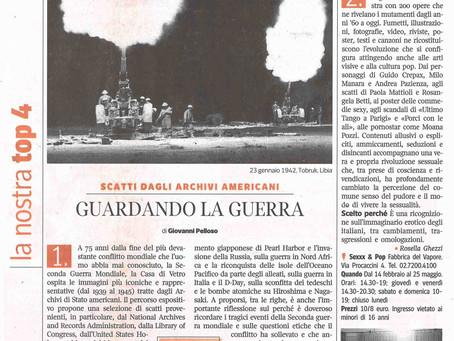 Giovanni Pelloso scrive della nostra mostra #laGuerraTotale per Vivimilano in edicola