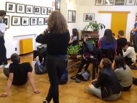 """Visita guidata """"Human Rights"""" con gli studenti del Liceo Colombini di Piacenza"""