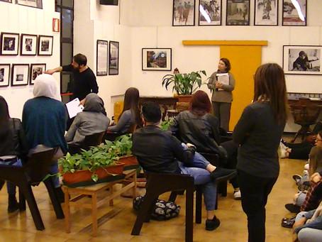 """Visita guidata """"Human Rights"""" con gli studenti dell'Istituto Cavalieri di Milano"""