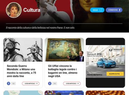 Fanpage.it segnala in home page il bellissimo articolo di Federica D'Alfonso su #laGuerraTotale