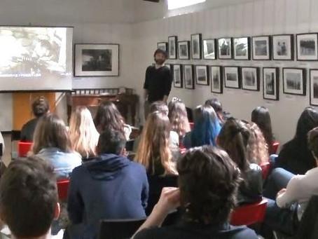 """Foto-proiezione commentata """"Assedio a Madrid"""" con gli studenti dell'Istituto Europeo Leopardi"""