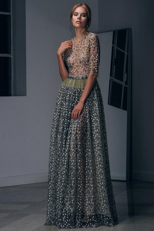 Unique Lace Long Dress