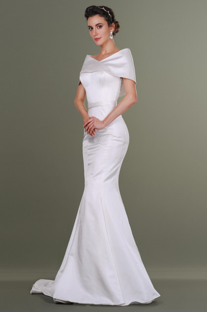 Silk Duchess Wedding Dress