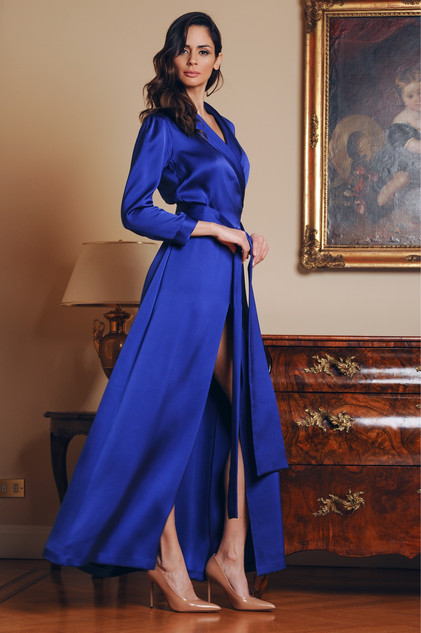 Silk Cady Dress