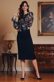 Chiffon Blouse and Cady Skirt