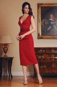 Midi Length Cady Dress