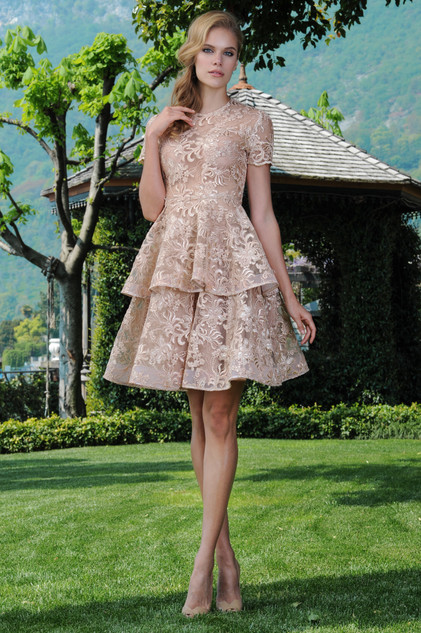Flare Lace Top and Flare Lace Skirt