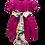 Thumbnail: Pink Organza Dress Bambina
