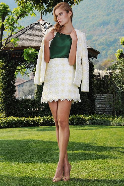 Cotton Macrame Skirt
