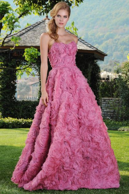 Silk Organza Unique Dress