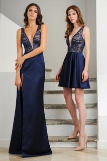Lace Duchess Long Dress / Lace Duchess Mini Dress