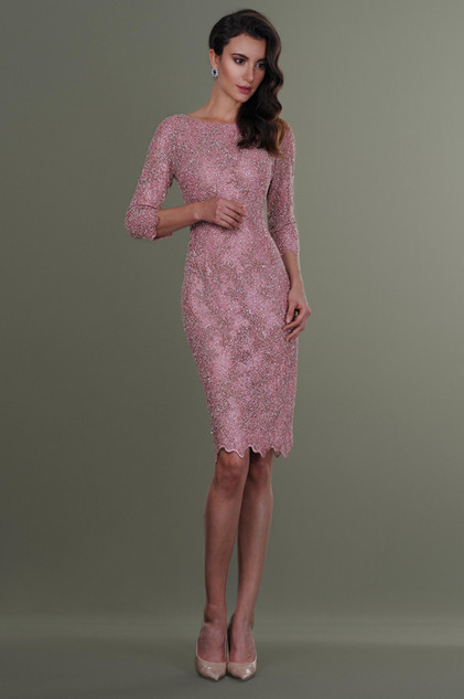 Hand Embroidered Lace Dress
